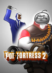 Pot Fortress 2 by soclarke
