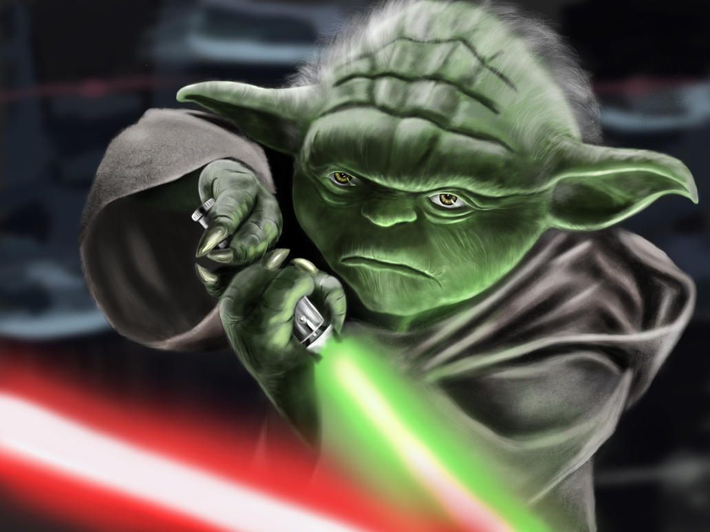master yoda vs darth - photo #32