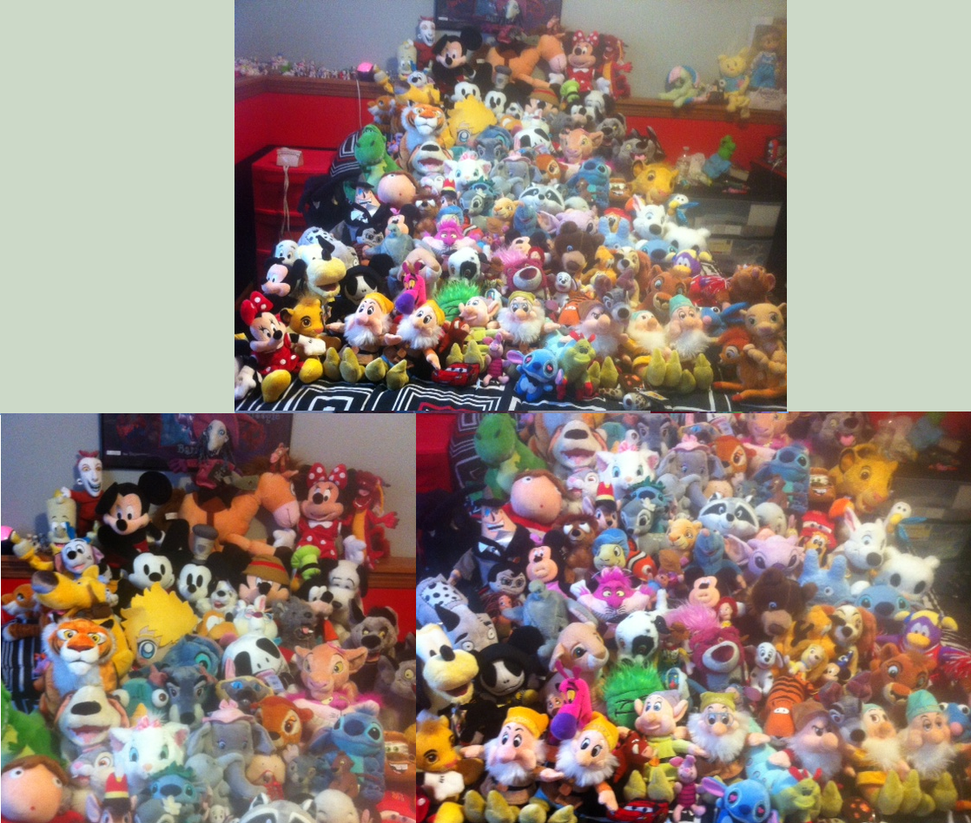 Disney Plush Collection by Biscuit-Rawr on DeviantArt