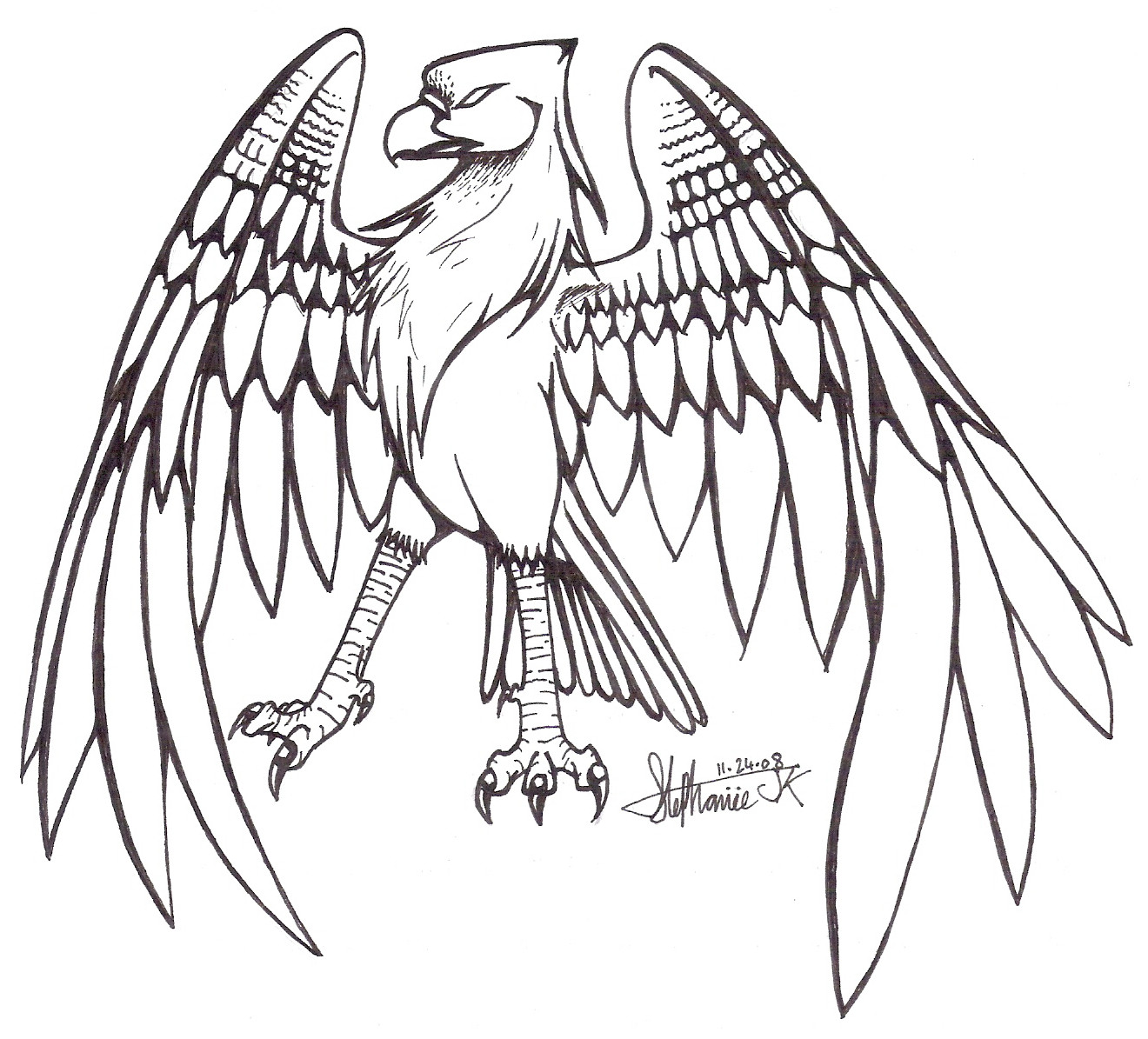 Line Drawing Of Animals And Birds : Birds on animal lineart deviantart