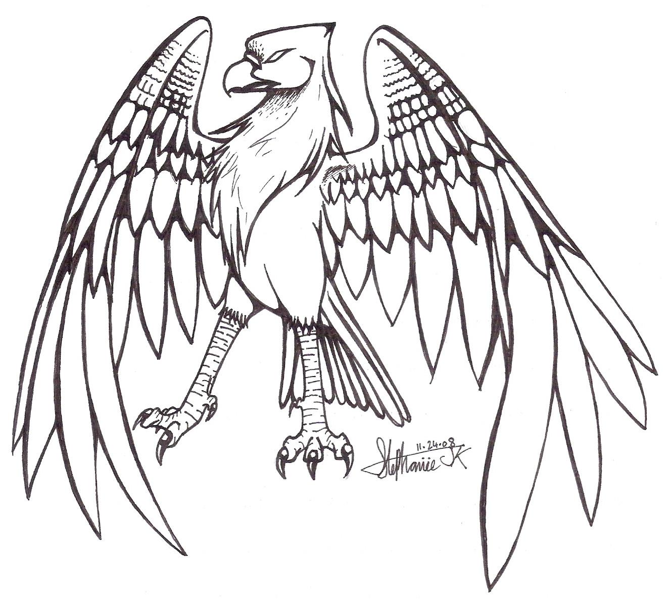 Line Art Animals : Bird lineart by stephi jk on deviantart