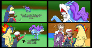 Still Fleeing Suicune by stephi-JK