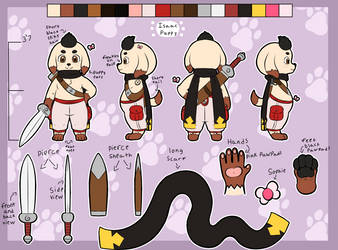 Isaac Puppy Ref 2018 (Updated) by Tahgoomy