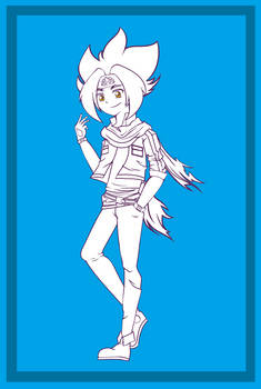MFB Fanart: Hagane Ginga (Zero-G Outfit)