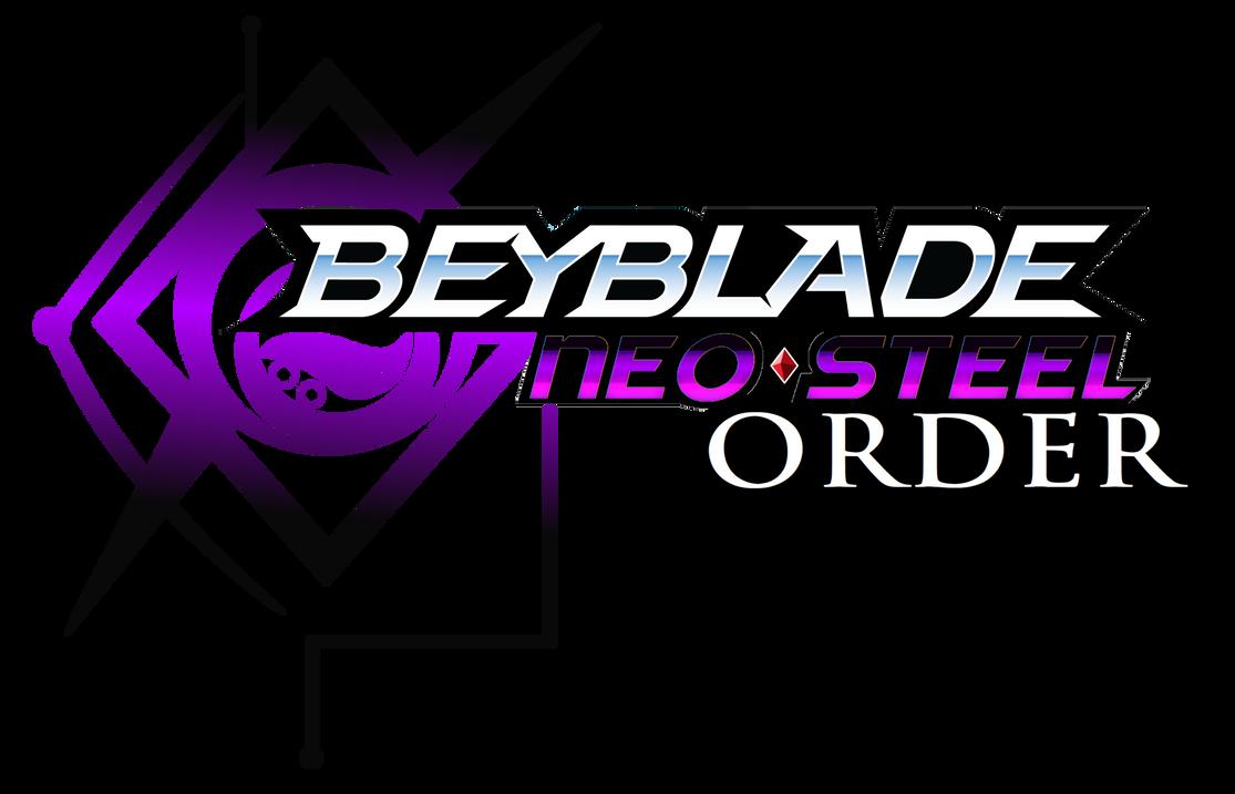 BEYBLADE: NEO-STEEL ORDER (Logo) by VanillaRinChii