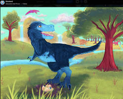 Feathered T-rex