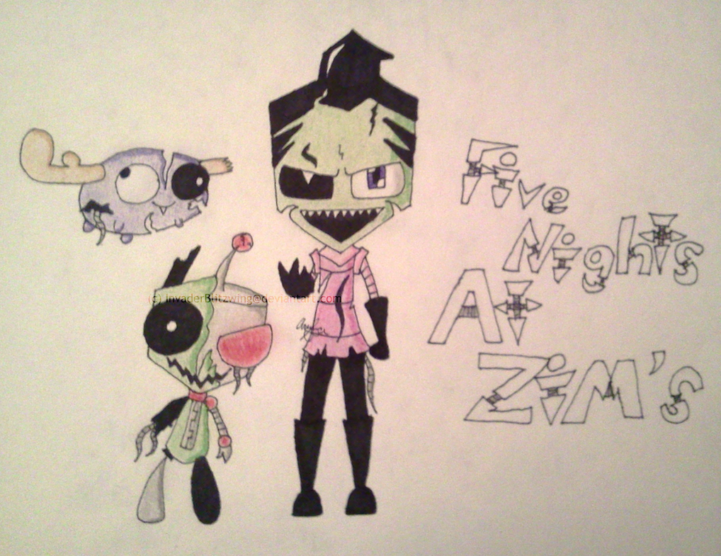 Invader Zim - Five Nights at ZiM's... by InvaderBlitzwing