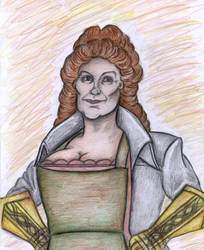 Portrait of Sybil Ramkin by Sofen