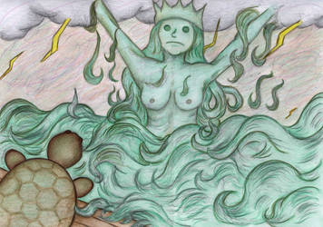 Sea Queen and God Om by Sofen