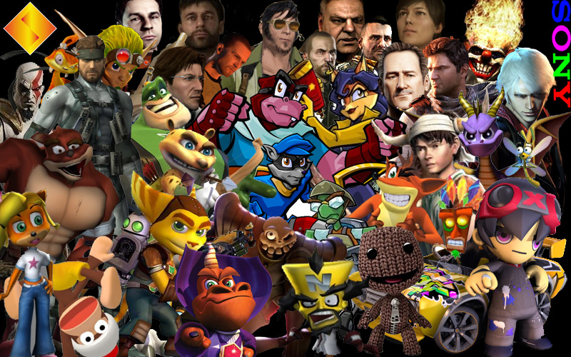 Top Video Game Character Collage Wallpapers