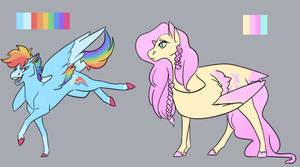 Pretty Pastel Horses? In My art?