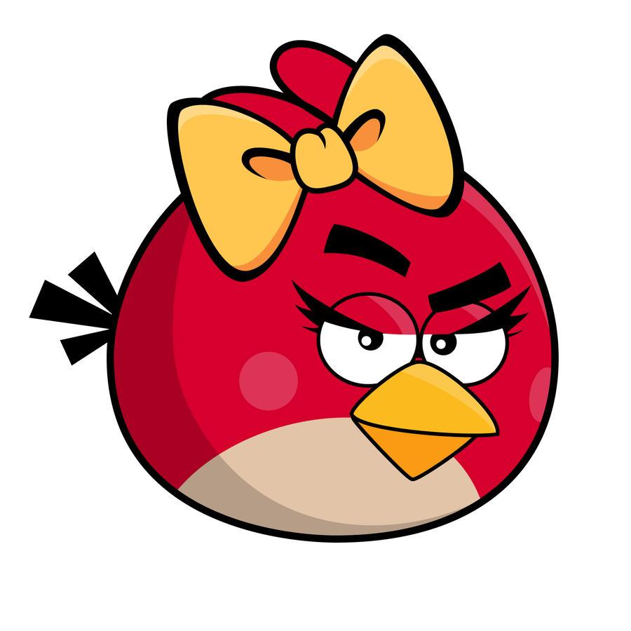 Angry Bird - Girl