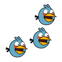 Angry Bird - Blue Bird by life-as-a-coder