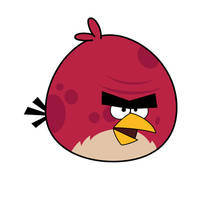Angry Bird - Big Red Bird by life-as-a-coder