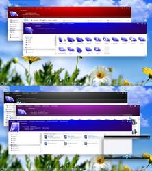 Xion blue Windows 10 Anniversary Update