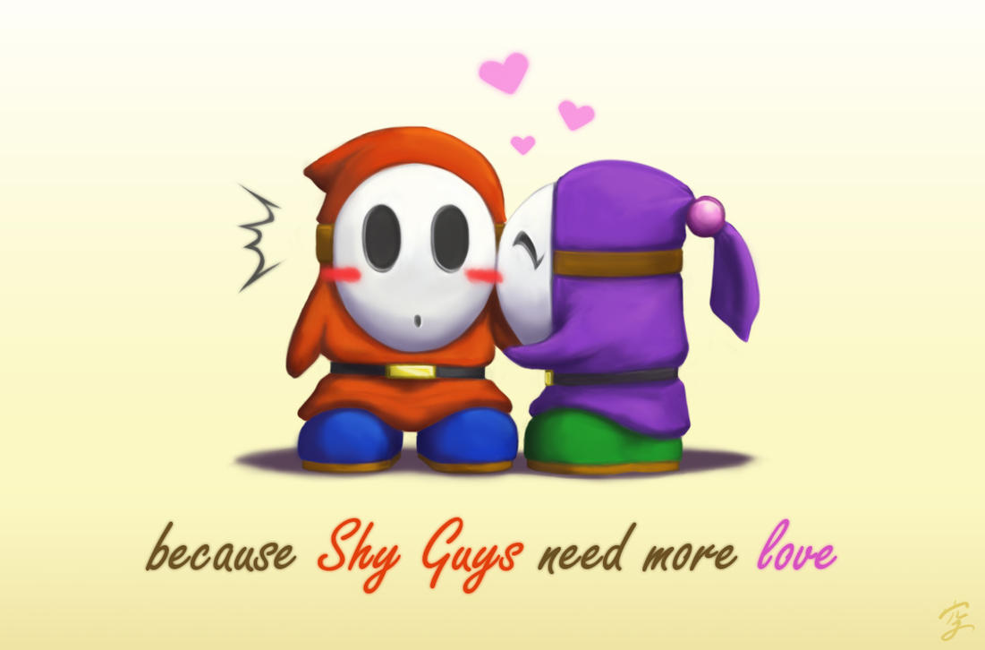 Shy guy and outgoing girl