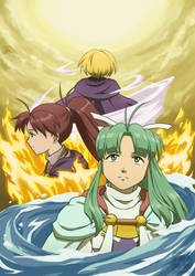 power trio (Golden Sun Fanzine submission)