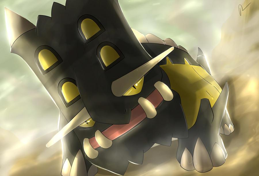 Pokemon Bastiodon Silvestre by Sorocabano