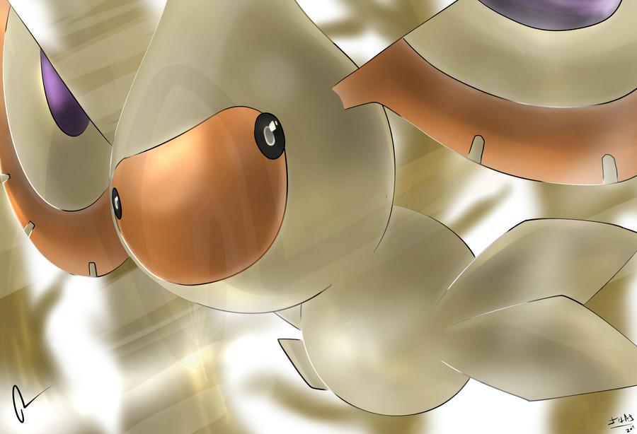 Pokemon Masquerain Silvestre by Sorocabano