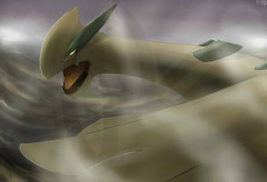 Pokemon Lugia Silvestre by Sorocabano