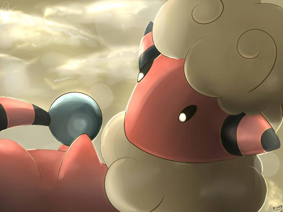 Pokemon Flaaffy Silvestre by Sorocabano