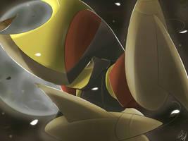 Pokemon Bisharp Silvestre by Sorocabano