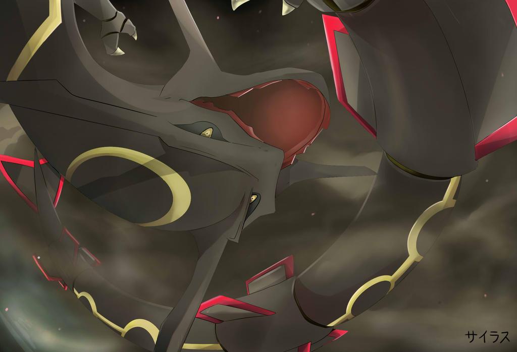 Pokemon Shiny Rayquaza Silvestre by Sorocabano on DeviantArt