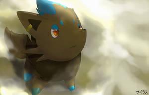 Pokemon Shiny Zorua Silvestre by Sorocabano