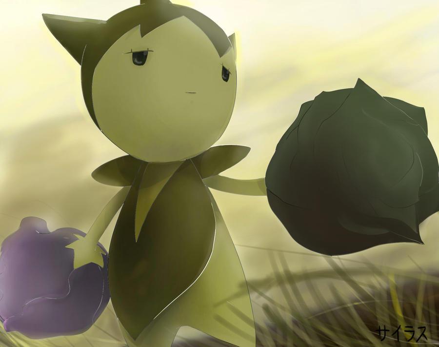 Pokemon Shiny Roselia Silvestre by Sorocabano