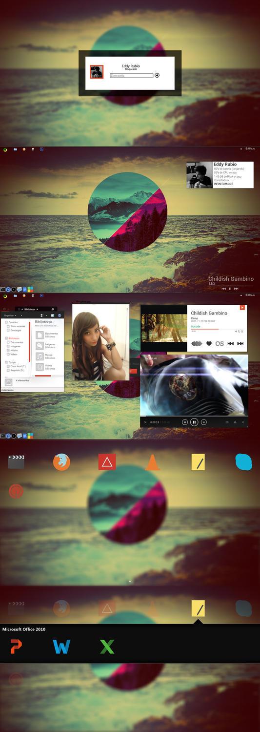 Iris Desktop by holasoyeddy