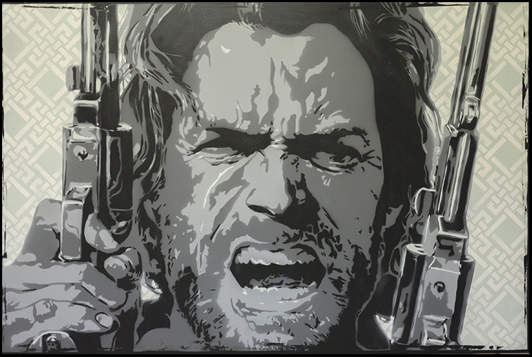The Outlaw Josey Wales by clayolsonart