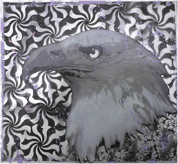 Eagle by clayolsonart