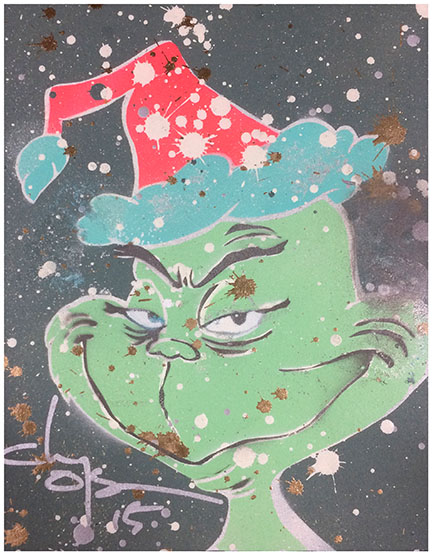 Grinch1 by clayolsonart