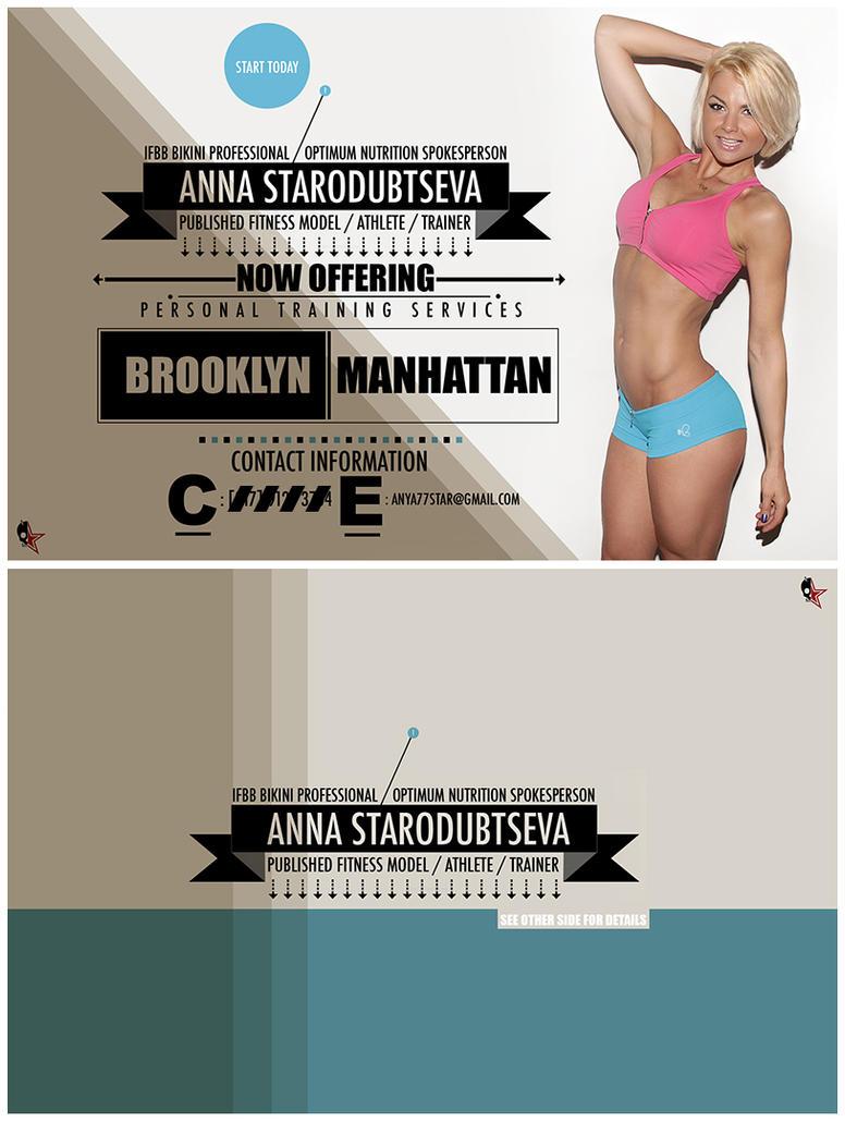 Anna Flyer by anttek