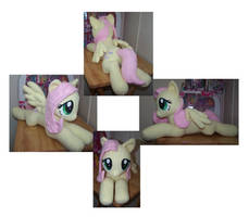 Fluttershy plush by Helgafuggly