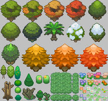 HGSS Tileset_Nature by ThunderDove