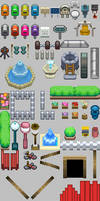 HGSS Tileset_Objects by ThunderDove