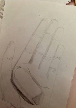 Hand Drawing with an Eraser