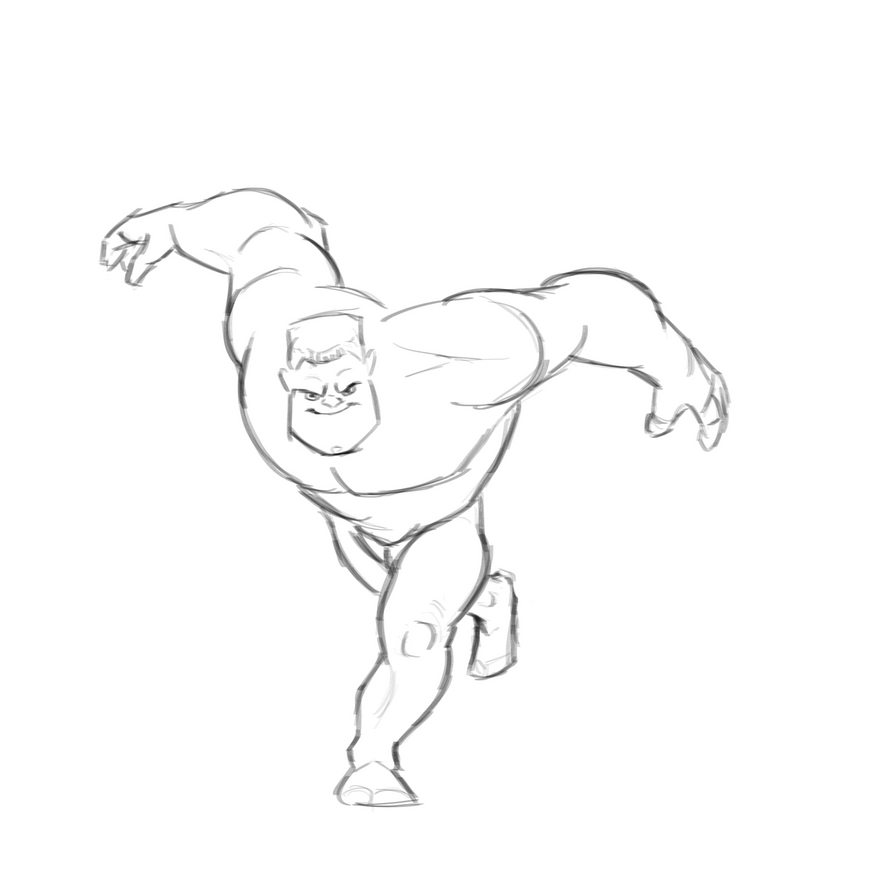 Heroic Character Pose Practice by marilu597