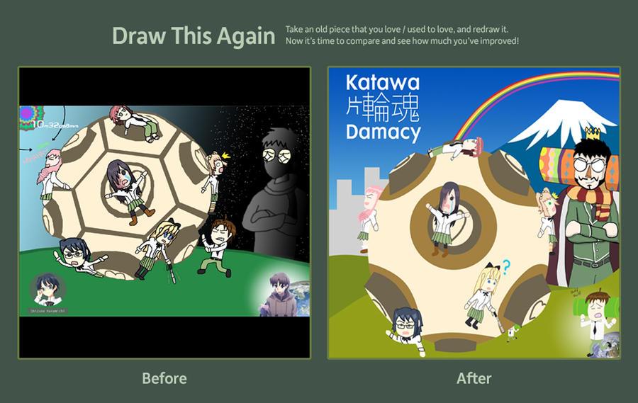 Katawa Damacy Comparison by fretless94