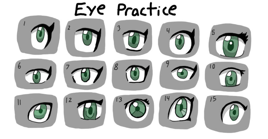 Eye Practice by fretless94