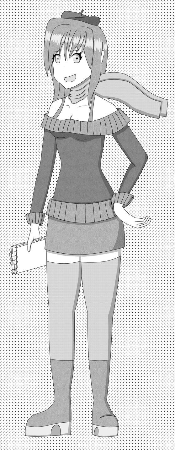 Julia (Manga Style) by fretless94
