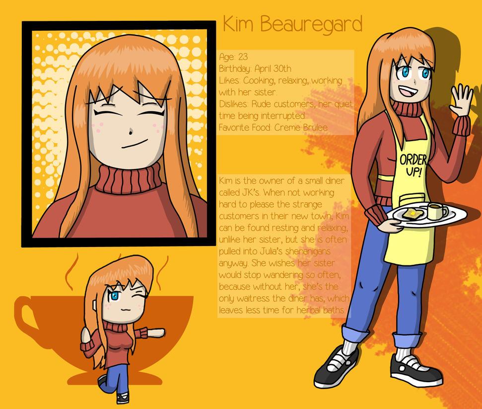 Kim Beauregard by fretless94