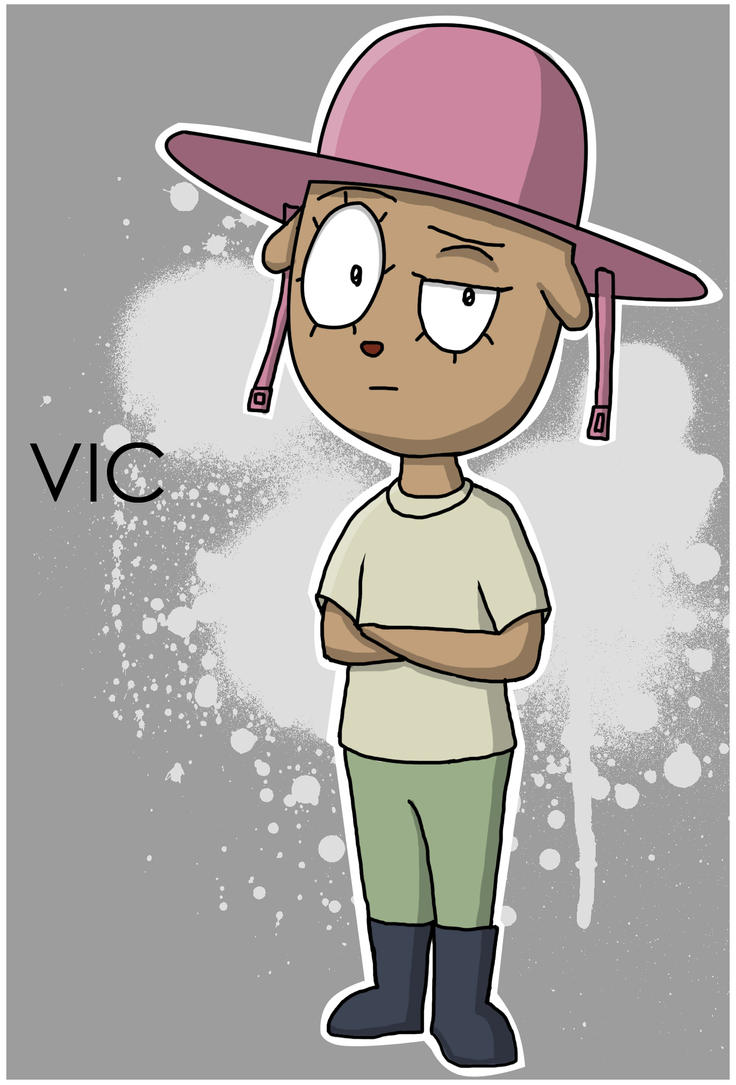 Art Trade: Vic by fretless94