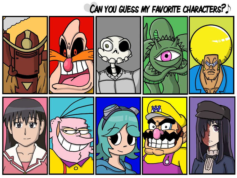 A few of my favorite characters by fretless94