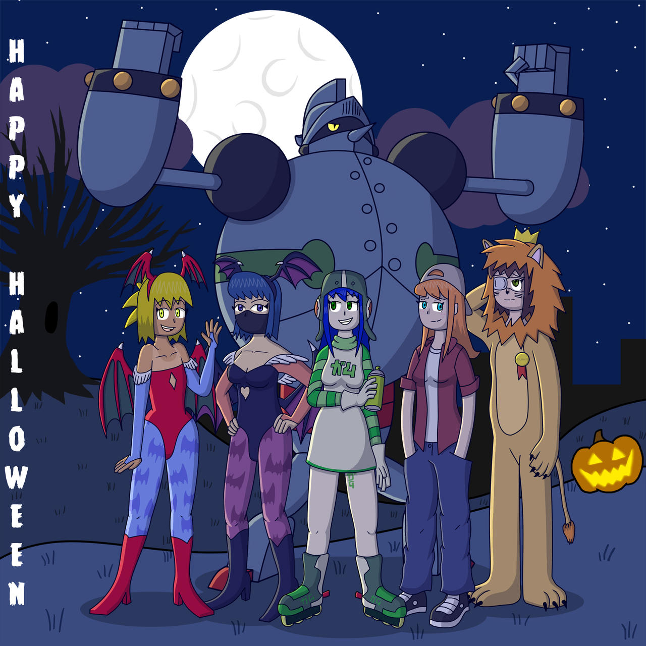 JK's Halloween Party! by fretless94