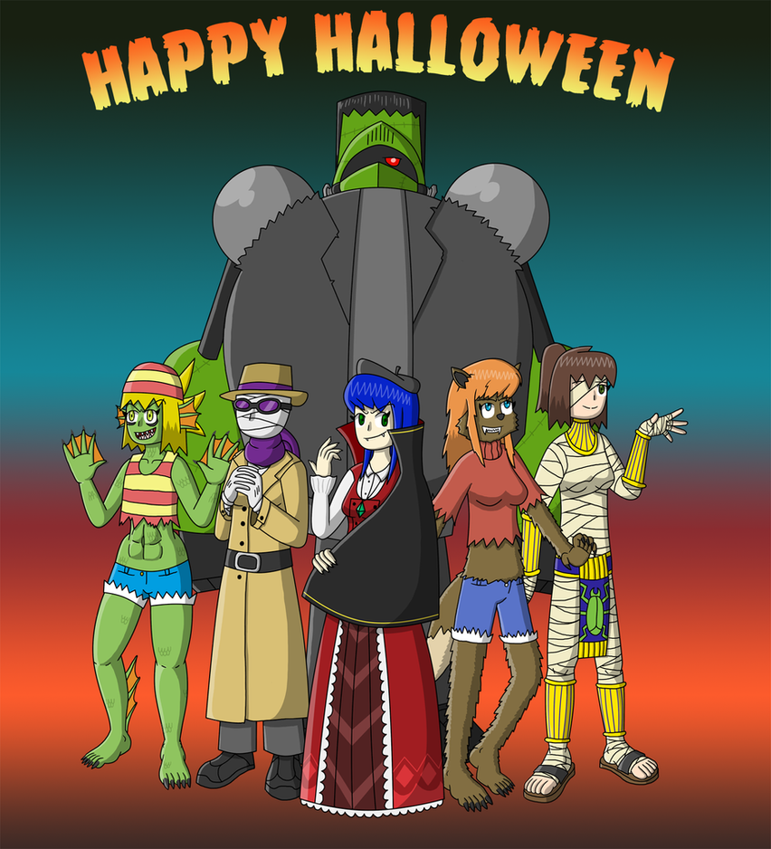 JK's Halloween 2014 by fretless94