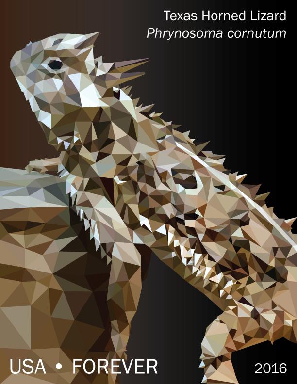 Polygon Texas Horned Lizard by fretless94