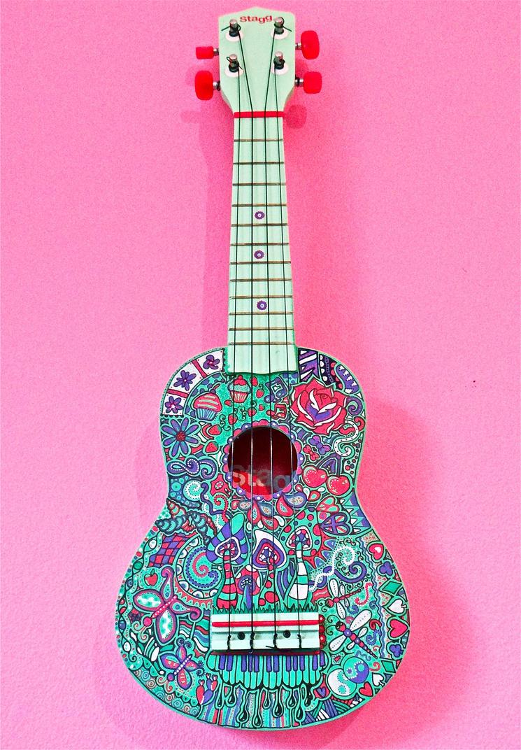 ukulele by adrift dreams on deviantart. Black Bedroom Furniture Sets. Home Design Ideas