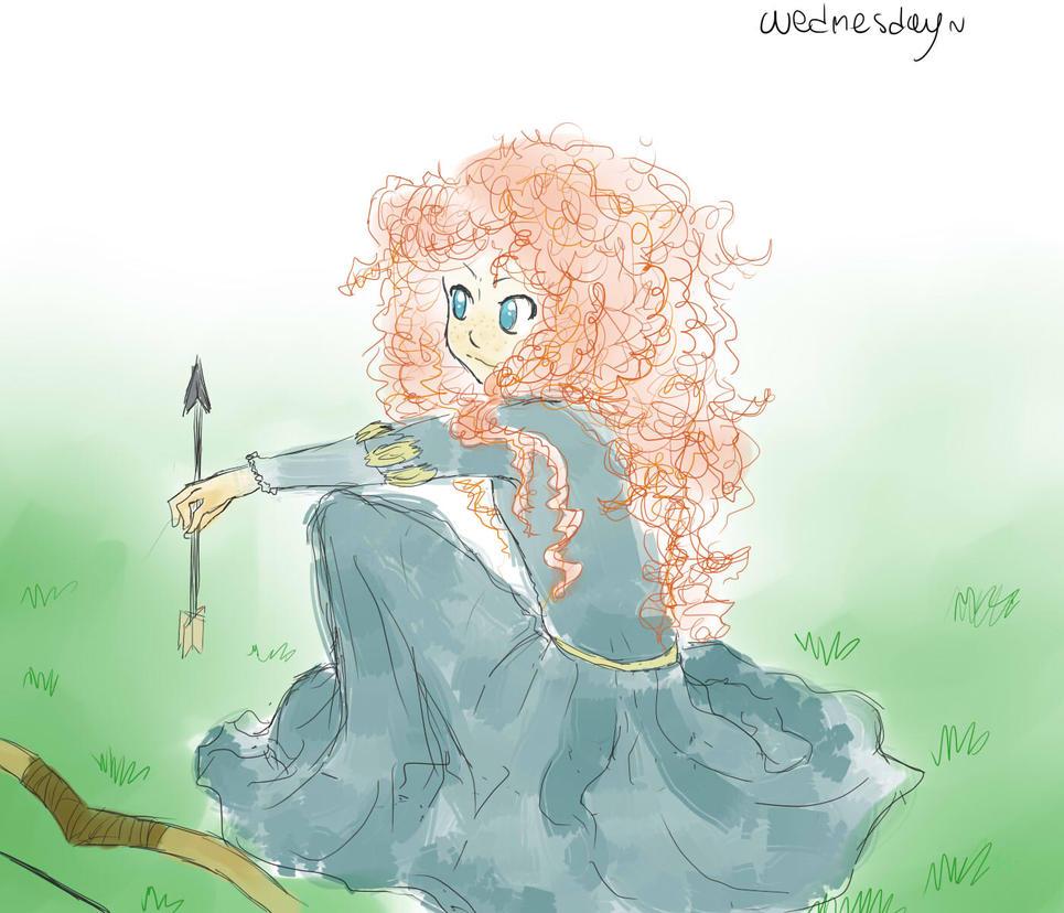 Merida- The Brave by WednesdayLiveInAWord
